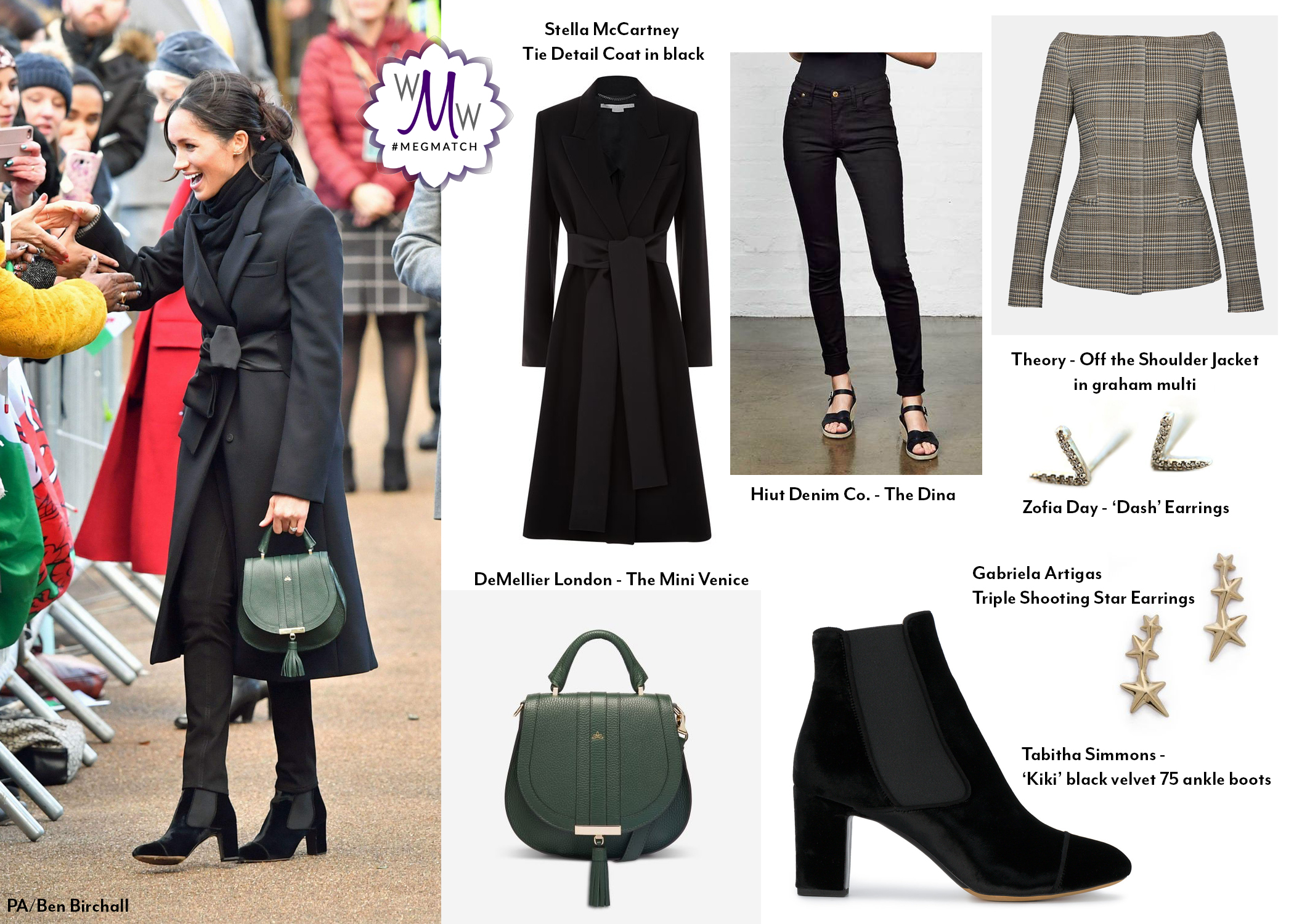 Meghan In New Brands For Wales Engagements What Meghan Wore