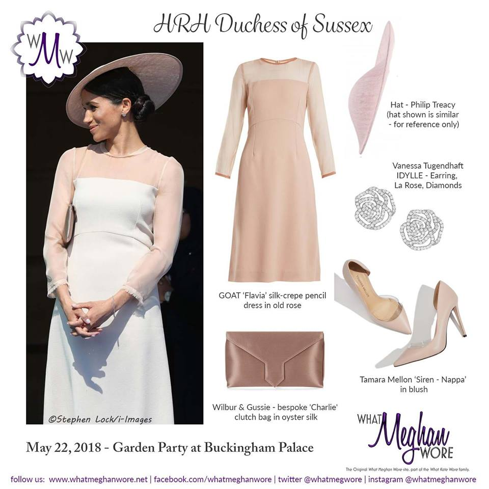 47ba833c3fe5 Meghan in Goat Fashion for Palace Garden Party – What Meghan Wore