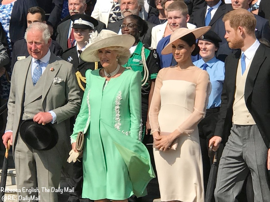 Meghan In Goat Fashion For Palace Garden Party What Meghan Wore
