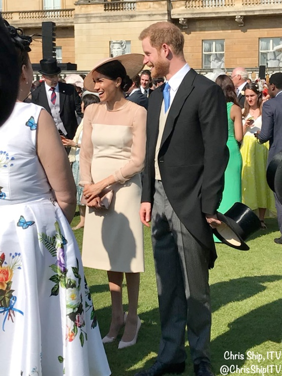 2b82edcf37c Meghan in Goat Fashion for Palace Garden Party – What Meghan Wore