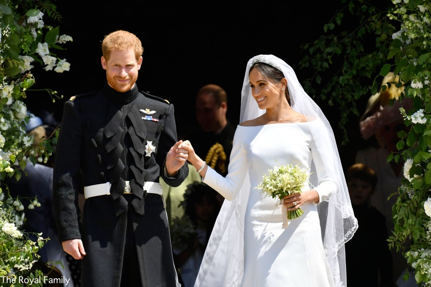 eb83e04d2803 A Wedding in Windsor – Meghan & Harry's Special Day – What Meghan Wore