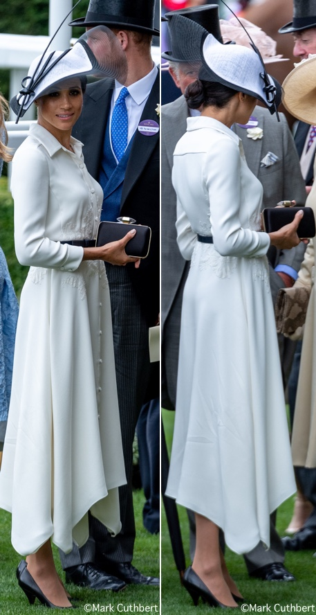 The Duke & Duchess of Sussex Attend Royal Ascot – What Meghan Wore