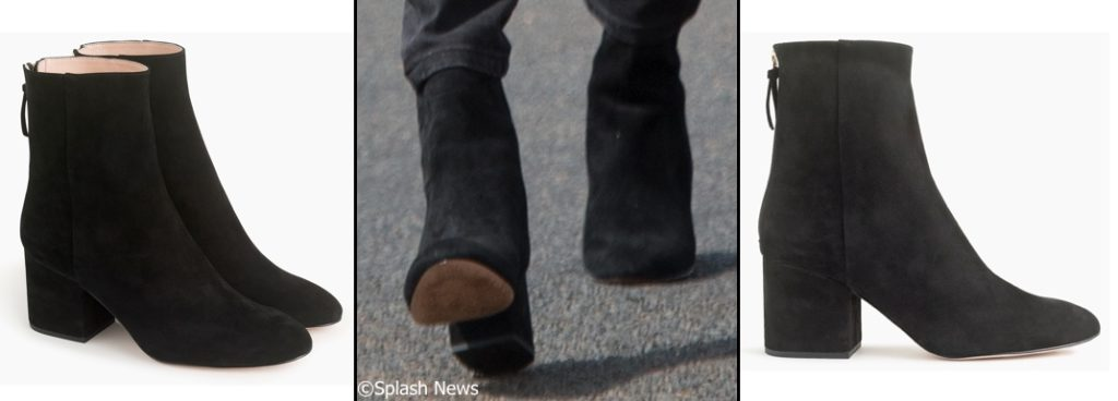 Meghan Markle J Crew Sadie Ankle Boots