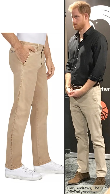 What Harry Wore