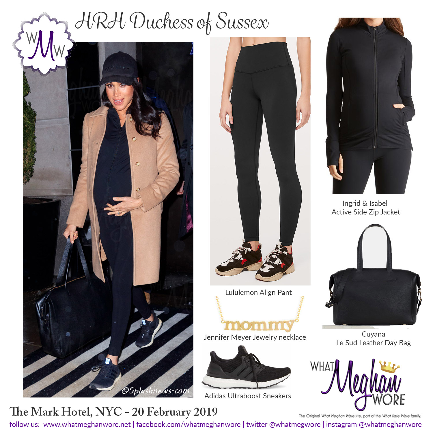 20 Feb 2019 Instagram Comfy Clothes 5 X 5 Wmw What Meghan Wore