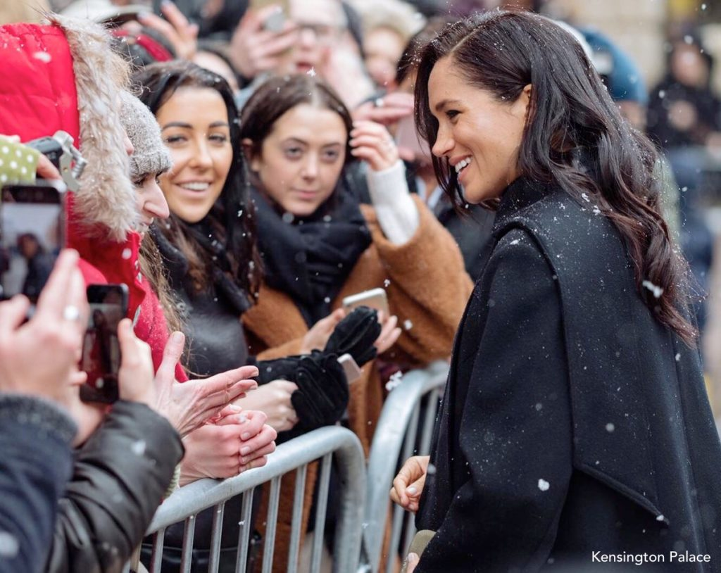 830348a2b000 Meghan Mixes New   Vintage Pieces for Bristol Visit – What Meghan Wore
