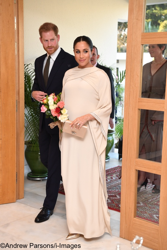 The Duchess Dons Dior from Top to Bottom for Morocco Reception