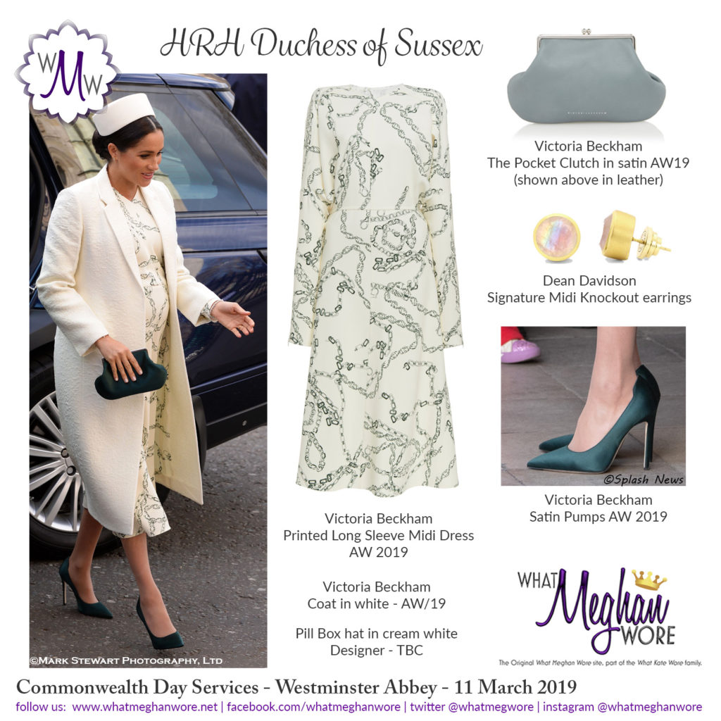 803f815c617 Meghan in Head to Toe Victoria Beckham for Commonwealth Service ...
