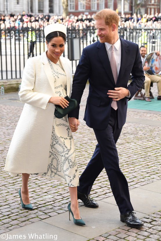 01fa39a3efe6 The Duchess wore a Victoria Beckham ensemble for today's Commonwealth  Service at Westminster Abbey.