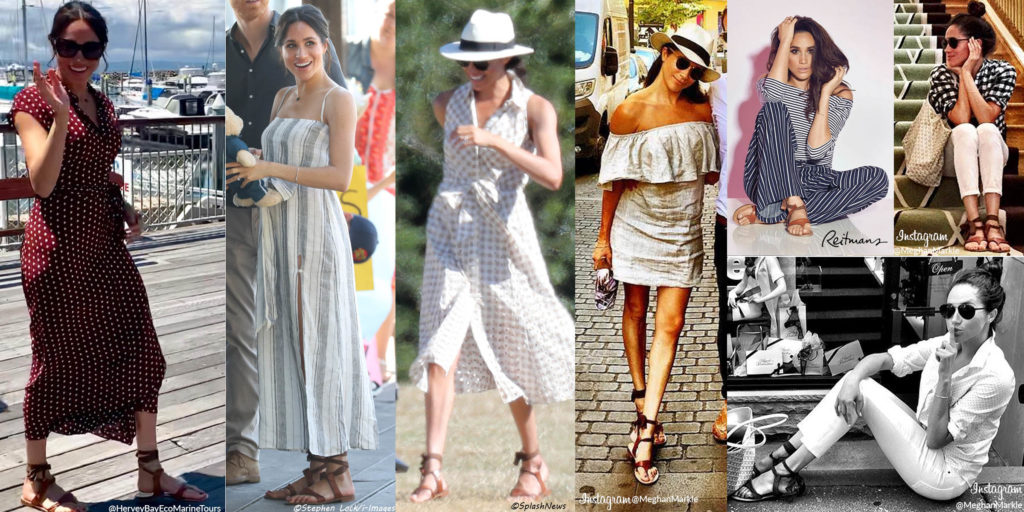 3ca084ece7e9 Sign up for the mailing list and receive  25.00 off your purchase  (Welcome25)! Remember all the times Meghan wore her Sarah Flint  Grear   Sandals!