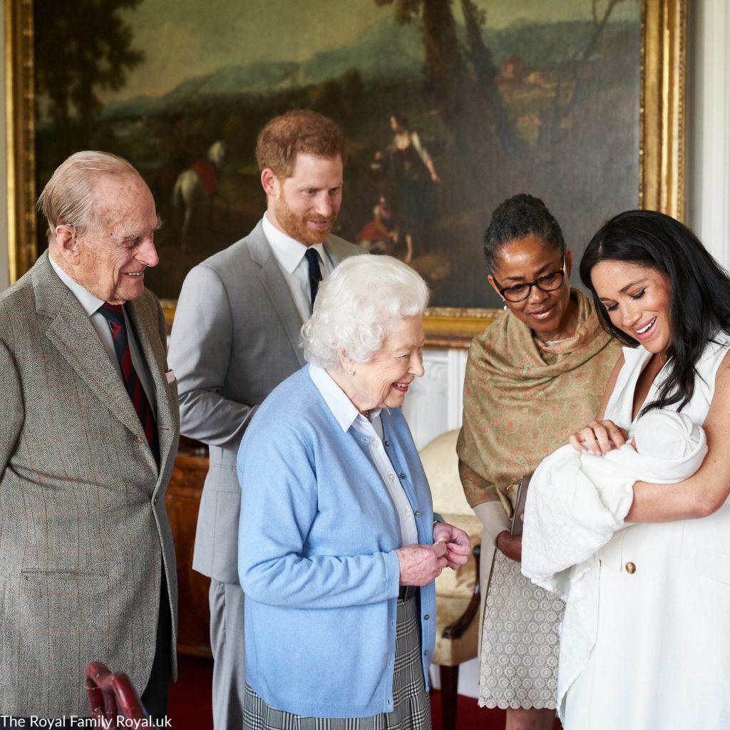 Welcome To The World, Archie Harrison Mountbatten-Windsor