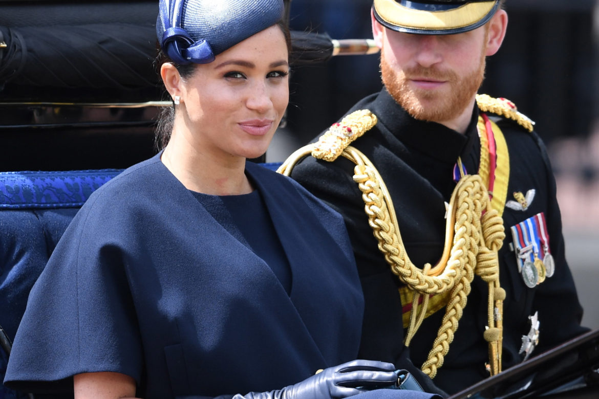 Meghan Markle Trooping Colour – What Meghan Wore