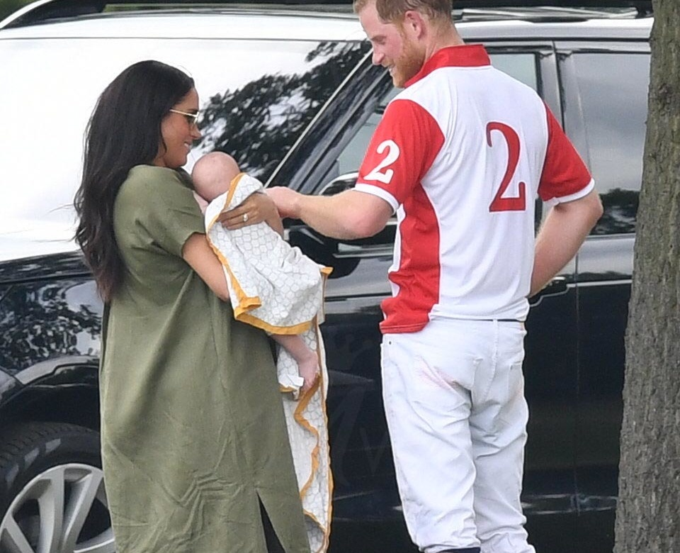 01de33e8c573 Meghan and Archie Cheer on Harry at Charity Polo Match – UPDATE ...