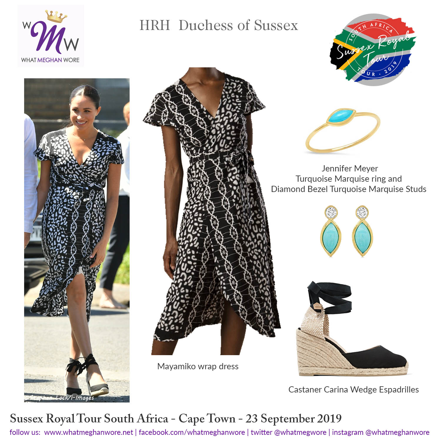 23sept19 Instagram Wmw Royal Tour Sa Day1 What Meghan Wore