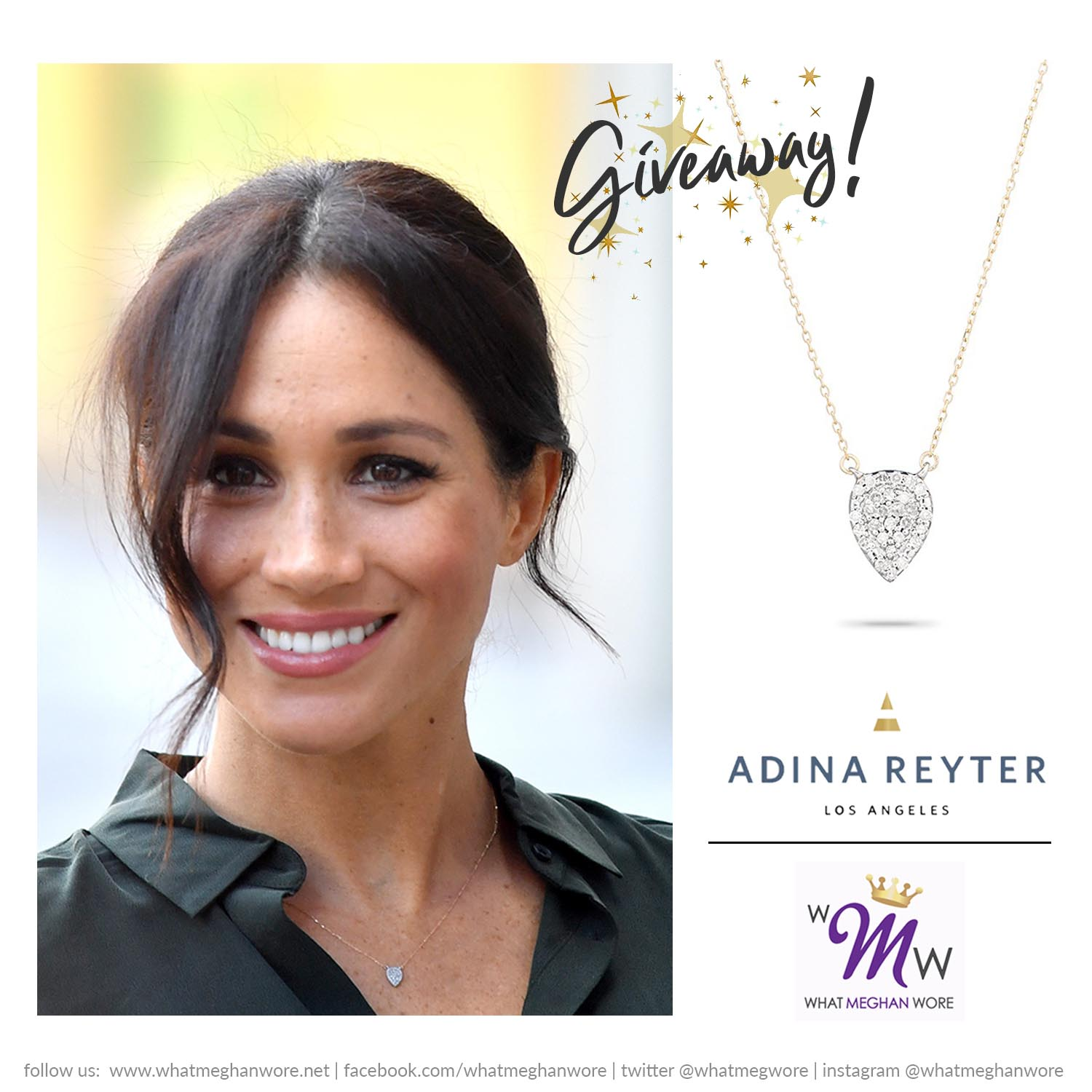 Adina Reyter Instagram Giveaway What Meghan Wore