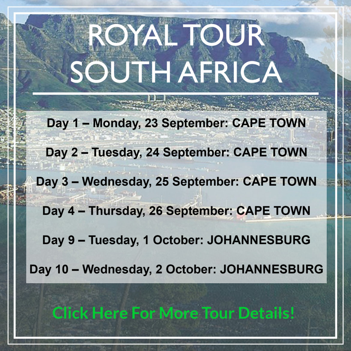 Royal Tour South Africa